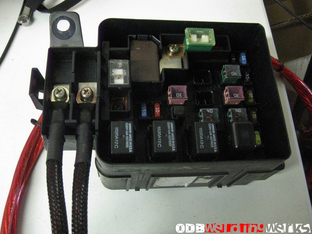 ek fuse box relocation 22 wiring diagram images wiring ek fuse box  relocation